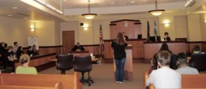 Teen court uses justice are